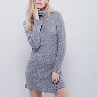 Free People Womens By the Fire Mini Dress