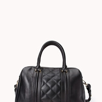 Iconic Quilted Boston Bag