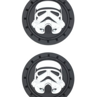 Star Wars Stormtrooper Auto Cup Holder Coasters 2 Pack