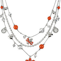 BetseyJohnson.com - CORAL FLOWER ILLUSION CORAL