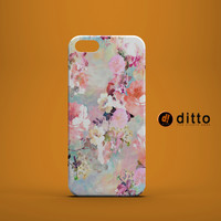 PINK PASTEL FLOWERS Custom Case for iPhone 6 6 Plus iPhone 5 5s 5c GalaxyS 3 4 & 5 and Note 3 4