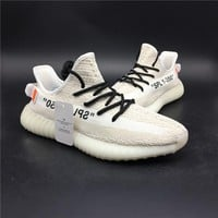 """Yeezy 350 Boost V2 """"white"""" sports shoes"""