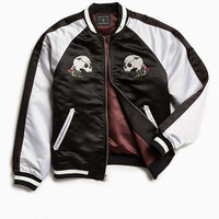 UO Embroidered Skull Souvenir Jacket - Urban Outfitters