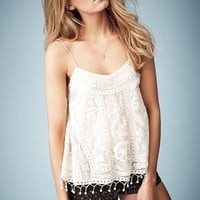 **SWING CROCHET CAMI TOP BY KATE MOSS FOR TOPSHOP