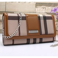 Burberry Women Leather Shoulder Bag Crossbody Satchel