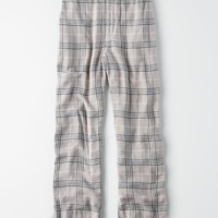 AE Plaid Pant, Gray