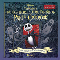 Tim Burton's The Nightmare Before Christmas Party Cookbook: Recipes and Crafts for the Perfect Spooky Party (B&N Exclusive)