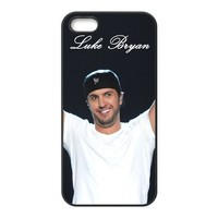 Luke Bryan iPhone 5 Case Hard Cover Protective Back Fits Case PC5597