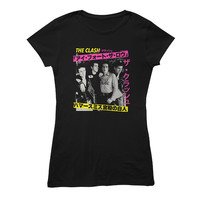 The Clash Official Store | London Calling Japan Black Ladies T-shirt