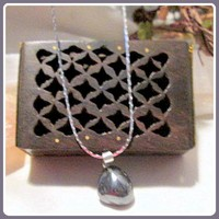 """Ground & Protection"" Hematite Necklace & Filigree Box Set"