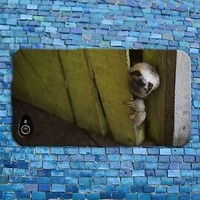 Funny Animal Phone Case Cute Baby Sloth Cover iPhone New Custom Cool
