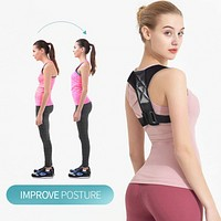 Clavicle Posture Corrector Adult Children Back Support Belt Corset Orthopedic Brace Shoulder Correct