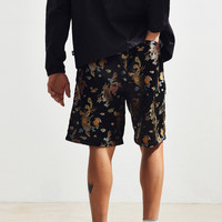 UO Dragon Brocade Boxing Short | Urban Outfitters