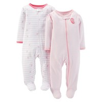 Just One You™Made by Carter's® Newborn Girls' 2 Pack Owl Sleep N' Play