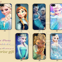 Disney frozen Phone Cases, iPhone 5 Case, iPhone 5S/5C Case, iPhone 4/4S Case, Samsung Galaxy S4 case, Galaxy S3 Disney princess --S182
