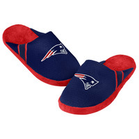 New England Patriots Jersey Slippers - 12pc Case
