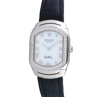 DCCKRQ5 Rolex Cellini automatic-self-wind womens Watch 6691 (Certified Pre-owned)