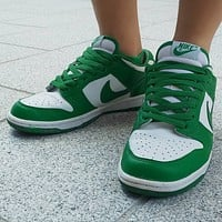 Nike Sb Dunk Low Celtic low-top skateboard shoes