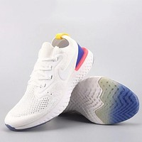 Trendsetter Nike Epic React Flyknit  Fashion Casual Sneakers Sport Shoes