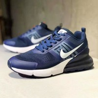 NIKE Air Vapor Max Trending Men Casual Air Cushion Sport Shoes Sneaker Blue