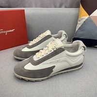Ferragam*  Woman's Men's 2020 New Fashion Casual Shoes Sneaker Sport Running Shoes