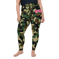 Theta Army Camo Leggings - plus