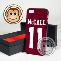 Teen Wolf McCall lacrosse for iPhone 4/4s, 5, 5s, 5c and Samsung Galaxy s3 and s4 Case