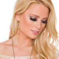 Perfect Lie Earrings - Gold