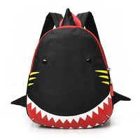 Boys Girls backpack Kids school bag Cartoon Shark Pattern Animals Backpack Toddler Nylon Rucksack schoolbag backpack mochila