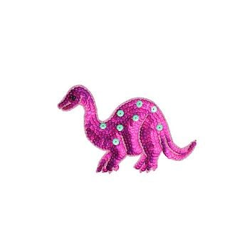 Sequin Oversized Dino Patches