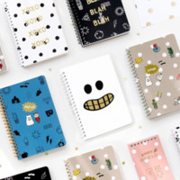 Medium Ghost Pop Notebook