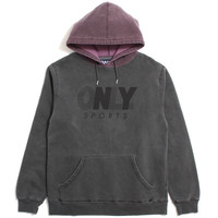 Sprint Pullover Hoody Charcoal / Plum
