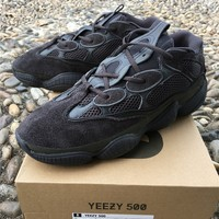 cc kuyou YEEZY 500 EXCLUSIVE black