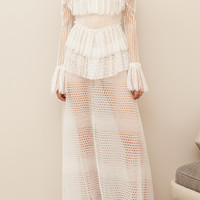 Rhea Lace Maxi Dress | Moda Operandi