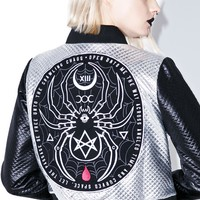 Black Widow Bomber Jacket
