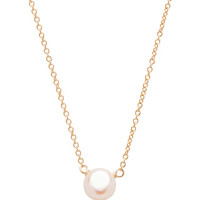 Pearls of Friendship Necklace in Gold