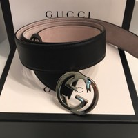Gucci Women's Belt Interlocking G Size 90 US 36