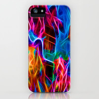 Abstract Electrified iPhone & iPod Case by WhatisArt