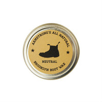 Armstrong's All Natural Boot Wax