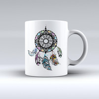 The Fancy Dreamcatcher ink-Fuzed Ceramic Coffee Mug