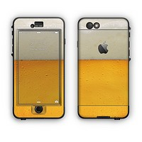 The Cold Beer Apple iPhone 6 Plus LifeProof Nuud Case Skin Set
