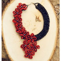Pree Brulee - Ethereal Cloisonne Necklace - Handcrafted