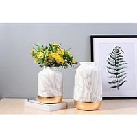 Two Tone Ceramic Vase Home Decor