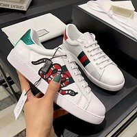 Onewel Gucci Ace embroidered low-top sneaker