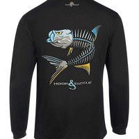 Men's Tarpon Action X-Ray L/S UV Fishing T-Shirt