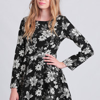 Double Date Floral Dress