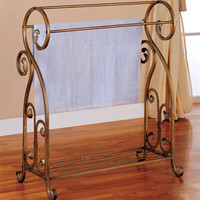 Antique Towel Rack by Coaster Furniture