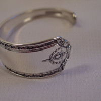 A Spoon Rings Plus Spoon Cuff Bracelet  See Description For Size Vintage Fork and Spoon Jewelry c112