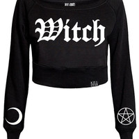Witch Crop Sweater [B]