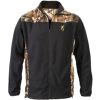 Browning Youth Camo & Black Fleece Jacket